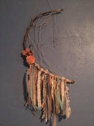 Tree Branch Dream Catcher My DIY Half Moon Dream Catcher For Baby B's Nursery Approximate 5