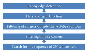 a framework of vertebra segmentation