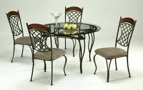 round glass topped dining table round glass top dining table sets glass top oak dining table