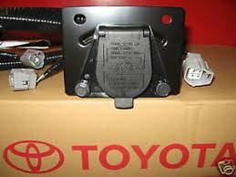 trailer wiring harness toyota highlander wiring diagram 2005 2015 tacoma trailer tow hitch wire harness 7 pin 82169 04010