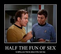 Star Trek Quotes Cool The Worst StarTrek Original Series Quotes To Shout Out During Sex