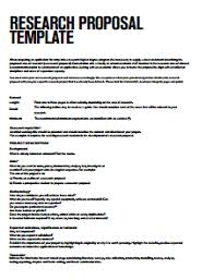 Proposal Templates Free Research Proposal Template Free Download Create Edit Fill