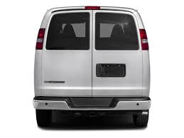 2018 gmc express passenger van. interesting van 2018 chevrolet express passenger base price rwd 2500 135 ls pricing rear  view on gmc express passenger van d