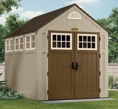 garden shed kits. Suncast 7.5 X 10.5 Resin Storage Shed Kit - BMS8000 Garden Kits