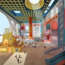 best графика images architecture drawings  Дипломный проект Влада Капустина Студия архитектурного бюро Меганом МАРХИ