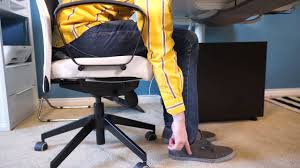 Home Office Tips Ergonomic Chair Standing Desk IKEA Home Tour