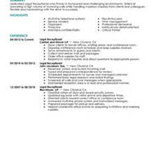 beauty salon receptionist resume s receptionist lewesmr sample resume resume for salon receptionist exles pic