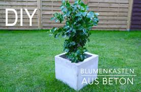 Diy Blumenkasten Aus Beton Anleitung Youtube Hochbeet Aus Beton Selber Machen