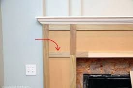 make a fireplace mantel building fireplace mantel exquisite design how to build a fireplace mantel home improvement your own hearth building fireplace