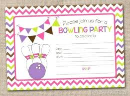 Bowling Party Invitation Bowling Invitation Template Best Of Free Printable Birthday