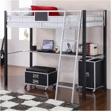 metal bunk bed with desk. Contemporary Bunk Bathroom Graceful Loft Bed With Futon And Desk 12 Bunk New Home Design Of  Ancient How Metal
