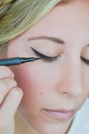 just be sure you apply it thicker where the triangle meets your lash line and thinner as you get closer to the inner corner of your eye