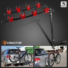 Details about New Auto Car Tuck SUV Rear 4 Bike Bicycle Hitch Mount Carrier Rack