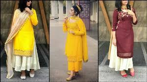 Stylish Plazo Suit Design Latest Plazo Suit Designs 2019 Punjabi Suit