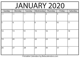 Plain Calendar 2020 Free Printable Calendar Monthly Download Printable