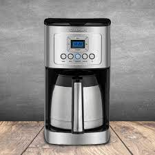 Simply press the lever to dispense hot water. Cuisinart 12 Cup Programmable Thermal Coffeemaker Reviews Wayfair