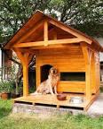 Домик для крупных собак