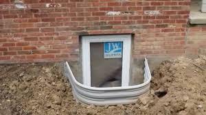 brick basement window wells. Perfect Window Installing Egress Window Well For A Legal Basement Bedroom  Ron Leffler  Real Estate  YouTube In Brick Wells