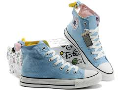 all star shoes for girls 2017. 2017 cheap converse all star bowknot vivi magazine recommend high light blue shoes for girls t