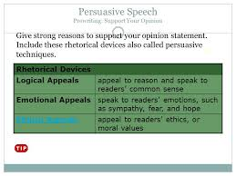 persuasive speech an issue is something about which people have persuasive speech prewriting support your opinion