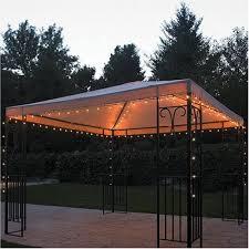 diy outdoor gazebo lighting wonderful outdoor gazebo