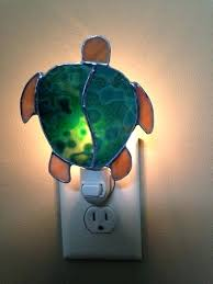 stained glass turtle lamp pattern