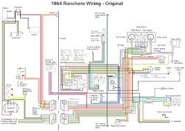 ford falcon wiring diagram wiring diagrams and schematics 1964 ranchero wiring diagrams