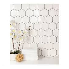 4 x4 ceramic tile great daltile semi gloss white hexagon 4 in x 4 in glazed