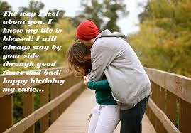 sweet love birthday wishes for her