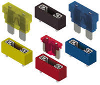 color coded, auto blade fuse holders keystone digikey Blade Fuse Sizes at 30a Mini Blade Fuse Box