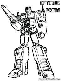 Transformers Coloring Pages Optimus Prime Prime Coloring Pages
