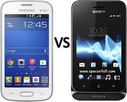 Sony Xperia Comparison Chart Compare Samsung Galaxy Star Pro Vs Sony Xperia Tipo Dual