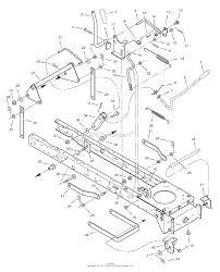 405606x50c lawn tractor 2007 mower housing suspension ⎙ print diagram