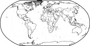 Small Picture Printable Color World Map Coloring Coloring Pages