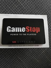 25 gamestop gift card