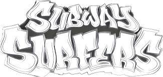 Kleurplaat Subway Surfers 4