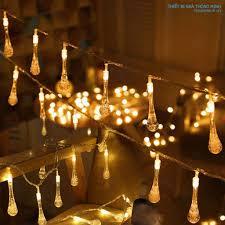 Dây đèn LED hình giọt nước HT5410 - Đèn trang trí ngoài trời