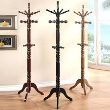 tree coat racks best collection of heavy duty walnut solid wood hat rack  hanger hall as