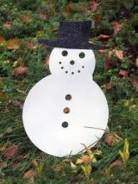 Giant Outdoor Snowman Christmas Winter Lawn Decoration \u2013 Rustica Ornamentals