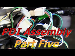 Gy6 ruckus engine wiring harness (20 min install). Taotao Atm50 A1 Chinese Scooter Pdi Assembly Part 5 Wiring And Connectors Youtube