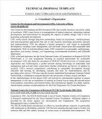Technical Proposal Templates Technical Proposal Templates Rome Fontanacountryinn Com