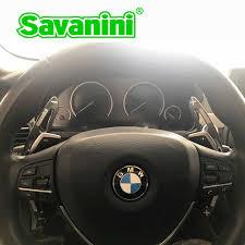 Savanini Steering Wheel Aluminum Shift Paddle Shifter Extension ...