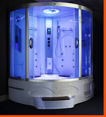 big steam shower room whirlpool tub w heater 1500w jacuzzi