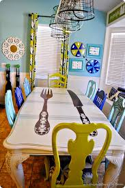 painted dining room furnitureDIY Dining Table and Chairs Makeovers  The Budget Decorator