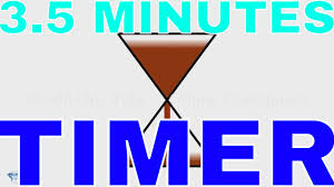 3 minute timer for powerpoint 3 minutes and 30 seconds sand timer youtube