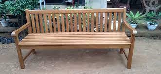 teak garden bench plantation teak a