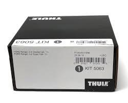 <b>Thule</b> Evo Fitting <b>Kit</b> 5063 <b>Ford</b> Ranger Double Cab T6 2011 on ...