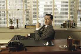 don draper office. Don Draper (Jon Hamm) At His Office Desk In The TV Show \u003cem 0