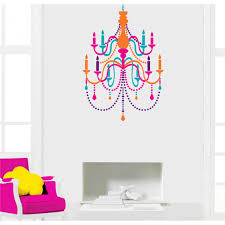 vinilo candelabro colores color chandelier ornamental