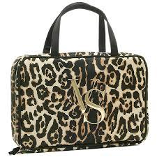 victoria s secret porch victorias secret 367881 281 print cosmetic travel case makeup porch leopard